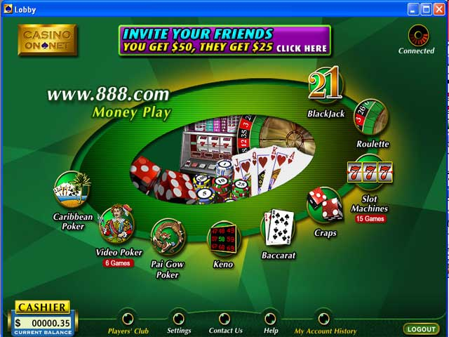 casino on net 888 gratuit