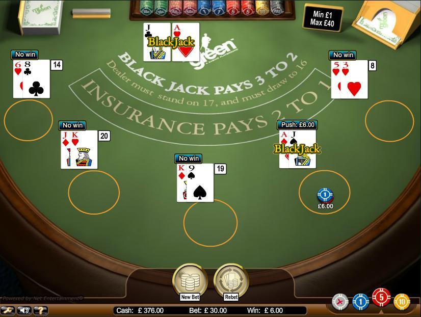 Free blackjack no sign up