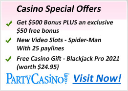 Party Casino Slots Offers