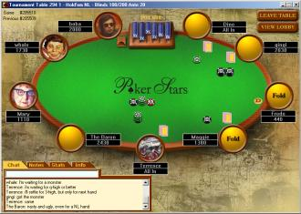 poker stars tournaments