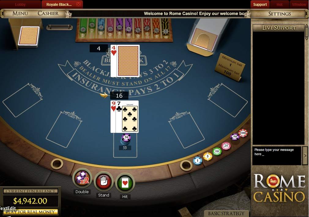 Casino rome ficha 500 dolares casino las vegas