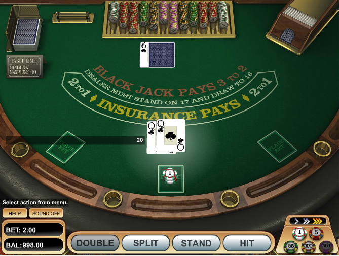 Rules of RNG Blackjack Variations at Bovada