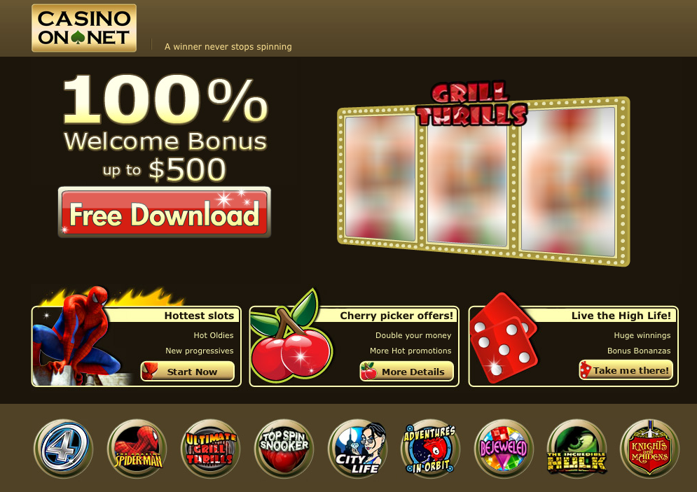 casino website software