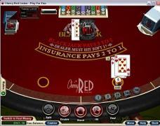 Cherry Red Casino Blackjack 21