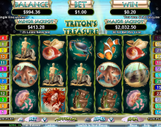 Cherry Red Slots: Tritons Treasure