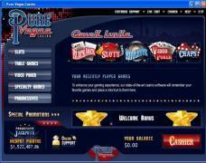 Pure Vegas Casino Lobby