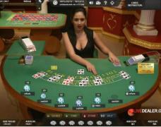 betvictor live blackjack table