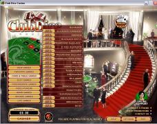 ClubDiceCasino Lobby
