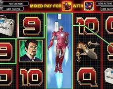 iron man Slot 15-20 Line