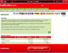 Ladbrokes Casino Deposit
