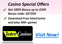 intercasino bonus code