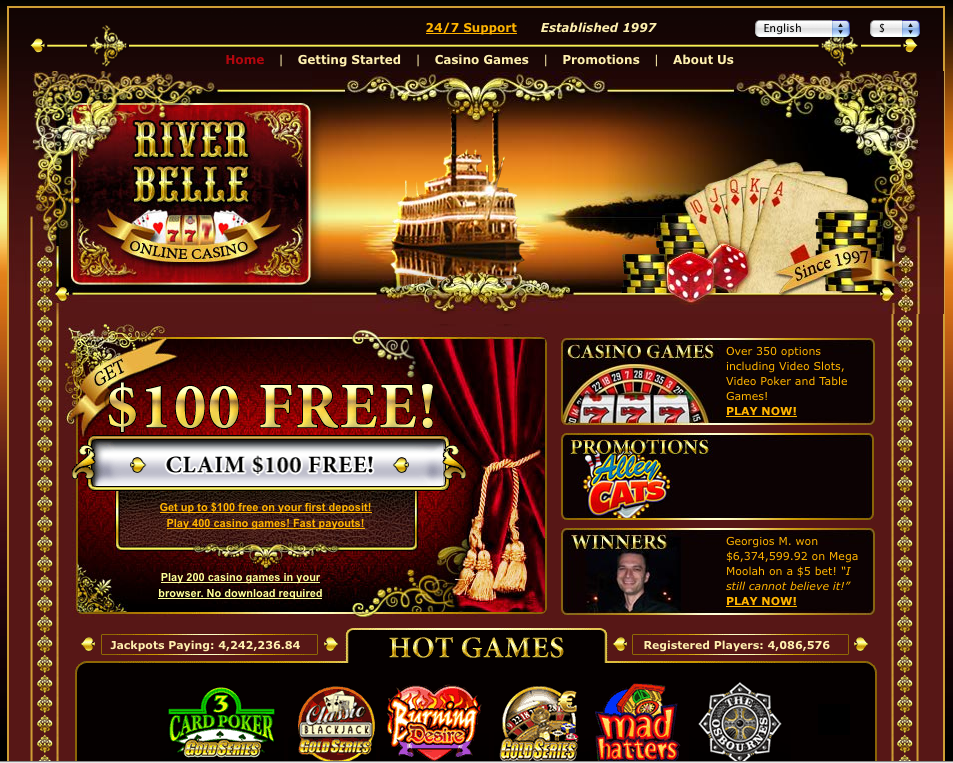 internet casino gambling site: