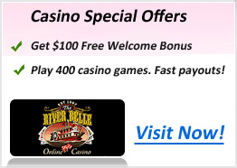 riverbellecasino Bonus