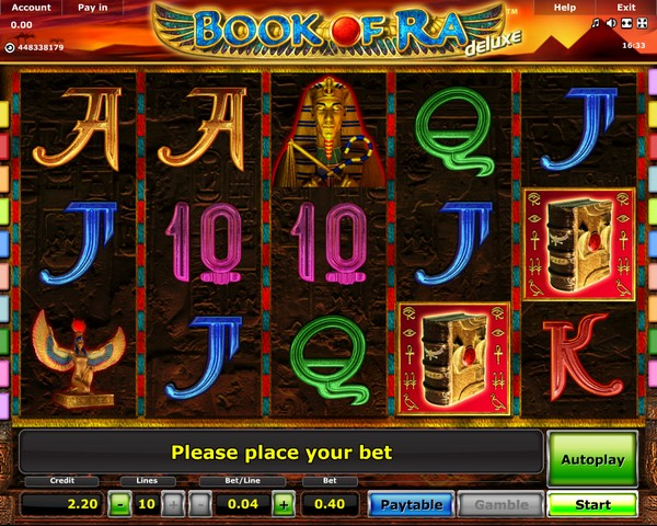 deutsches online casino book of ra spielautomat