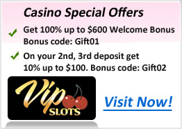 Vip Slots Offers
