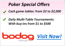 Bodog Poker offers