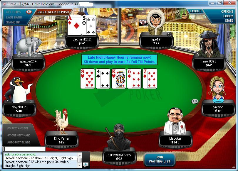 Fulltiltpoker casino tournament-online freerollonline weapons used in casino royale