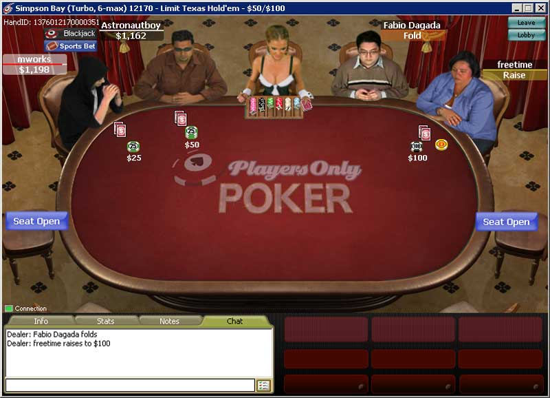PlayersOnly Poker Table